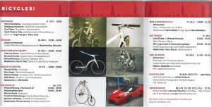 Bicycles! Flyer